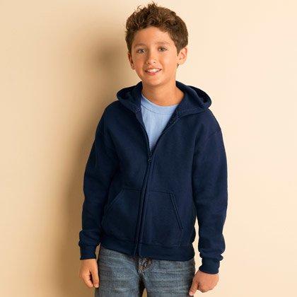 Gildan Heavy Blend Zip Hooded Sweat Kids