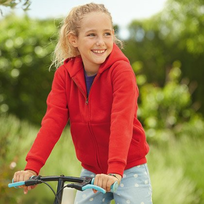 FOTL Kids Premium Hooded Sweat Jacket
