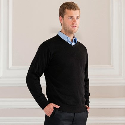 Russel V-Neck Knitted Pullover 710M