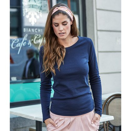 Tee Jays Ladies Long Sleeve Interlock Tee