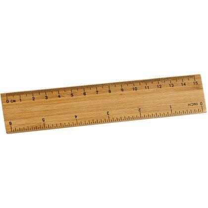 Viivoitin Bamboo 15 cm