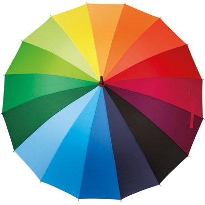 Stockschirm Colorful