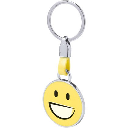 Metallnyckelring Emoji