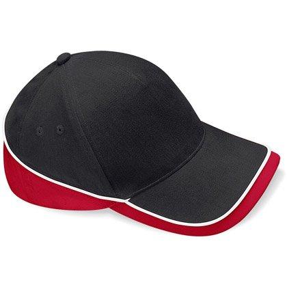 black/ classic red/ white