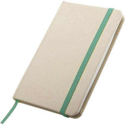 Skrivblock Green A6