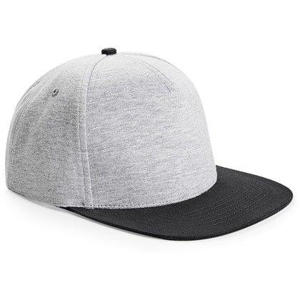 heather grey/ black