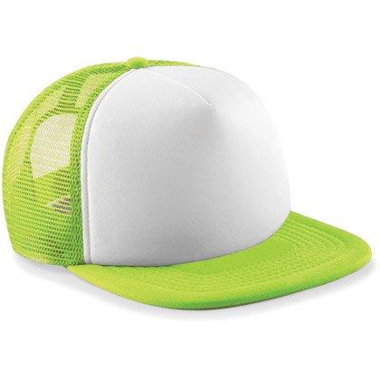 lime green/ white